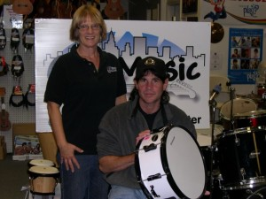 Winner of the Ludwig snare drum