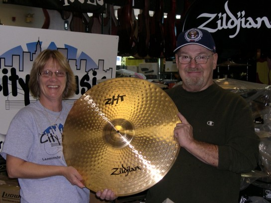 Pat McKee wins Zildjian Cymbal