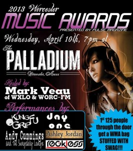 2013 Worcester Music Awards