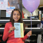 Winner of a month of music lessons from City Music's Lesson Studios