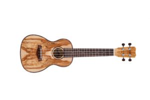 Islander MAC-4 spalted maple concert uke