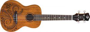 Luna's mahogany Tattoo ukulele