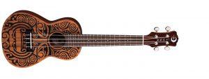 The mahogany Tribal ukulele by Luna