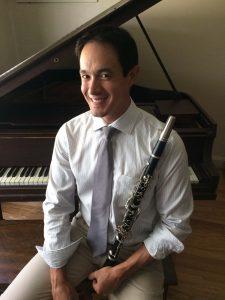 Clarinetist Michael Wong