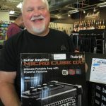 This Roland Micro Cube GX won by David Roche