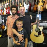 Jesse Valeri won this beautiful Yamaha FSX800C acoustic guitar