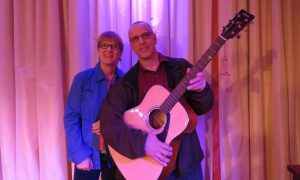 Winner of the Yamaha acoustic guitar
